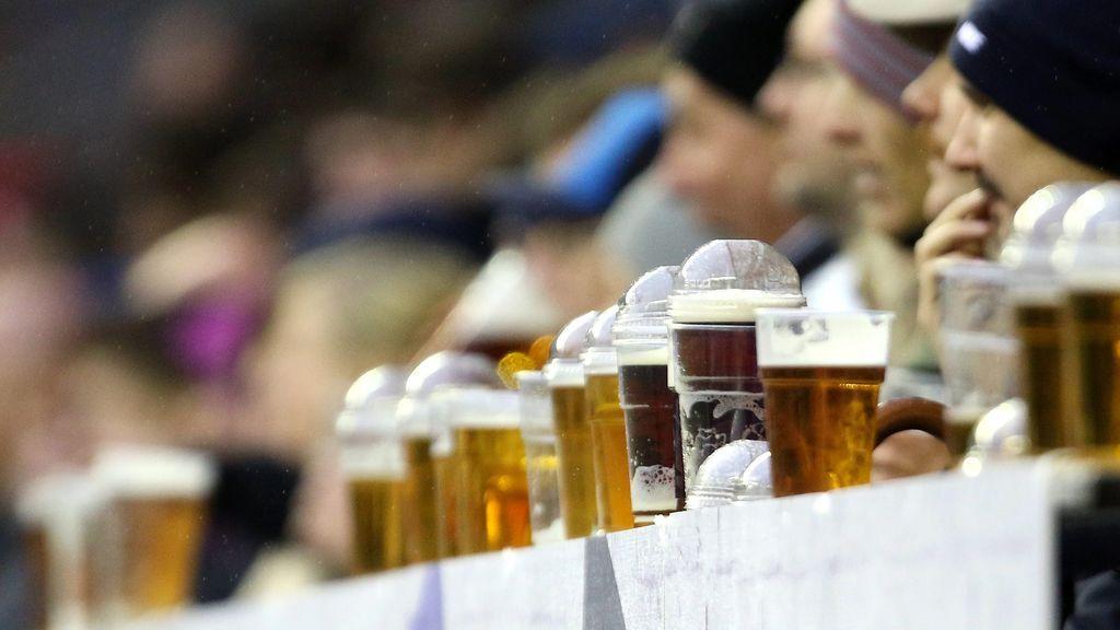 La clasificación de la Premier por el precio de la cerveza en su estadio