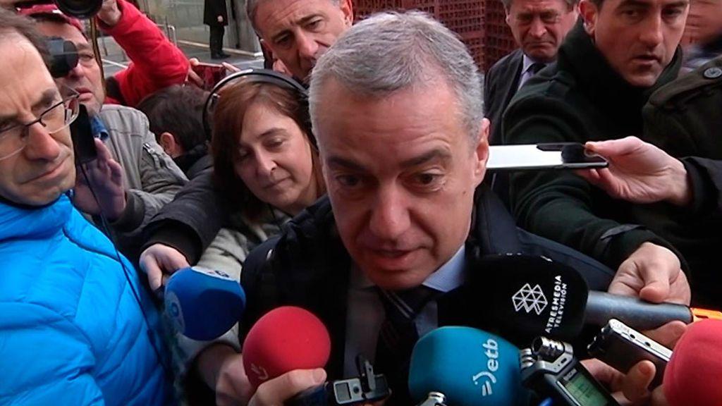 Iñigo Urkullu  anunciará esta tarde el adelanto de las elecciones autonómicas en el País vasco para el 5 de abril