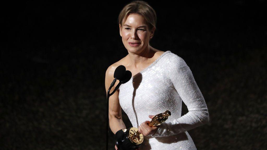 Rénee Zellweger logra el Óscar a Mejor Actriz por 'Judy'