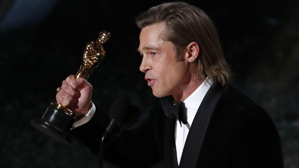 Brad Pitt gana el Óscar al Mejor Actor de Reparto por 'Érase una vez en Hollywood'