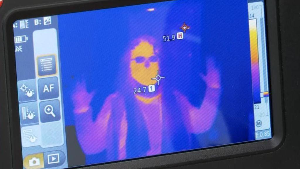 Así funcionan las cámaras termográficas para prevenir el ...