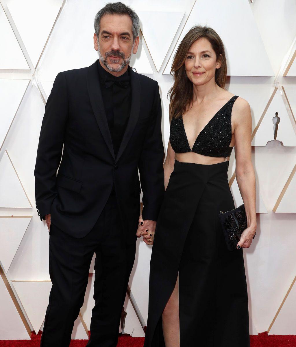 Todd Phillips posa en la alfombra roja de los Premios Óscar 2020
