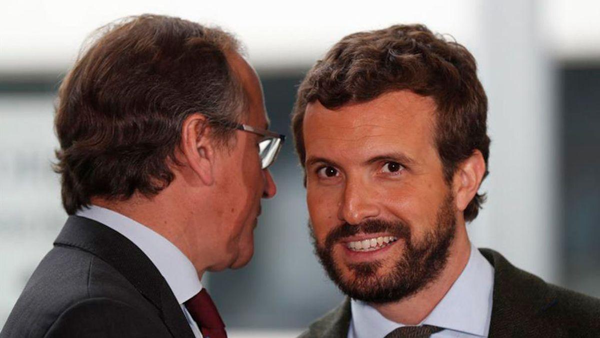 Casado confirma a Alonso como candidato obligado por el adelanto electoral en Euskadi