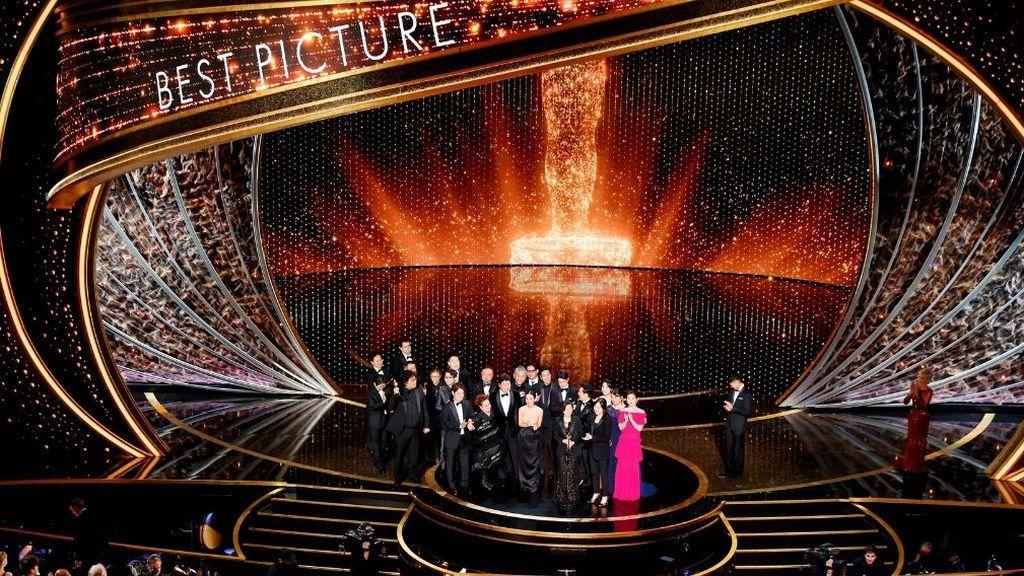 La película surcoreana 'Parásitos' hace historia en los Óscar