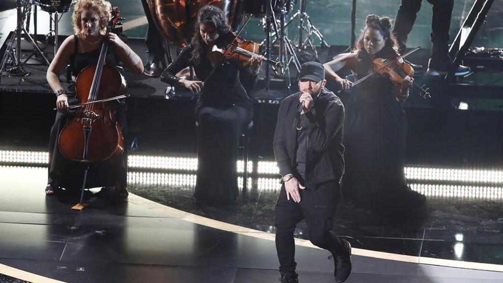 Eminem ponen las pilas al teatro Dolby
