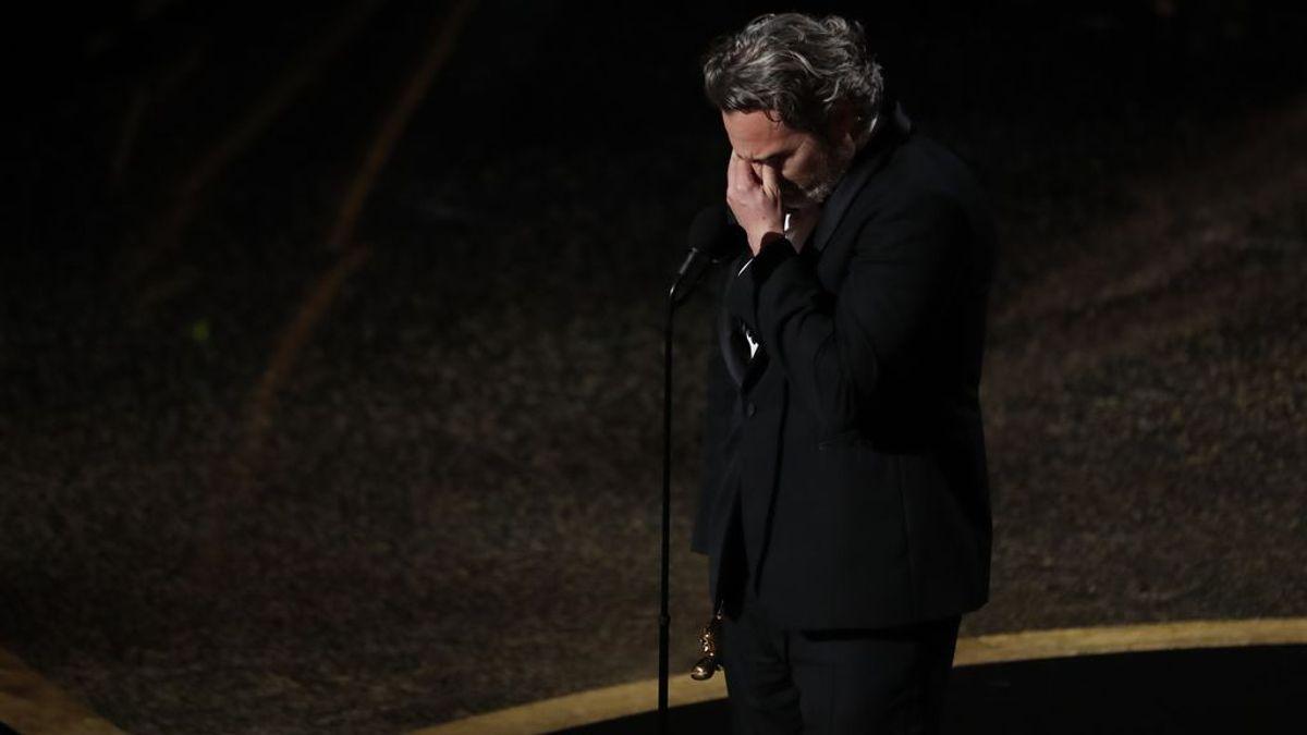 Joaquin Phoenix recibe el Óscar a Mejor Actor por 'Joker'