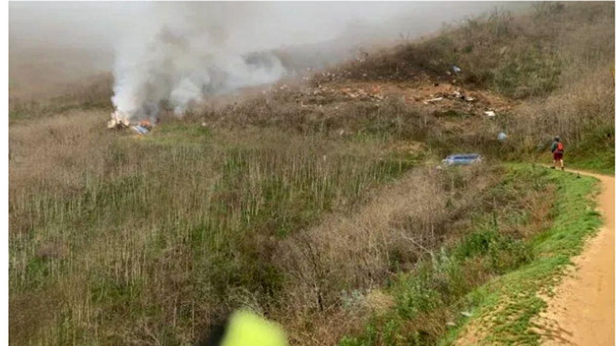 Accidente de Kobe Bryant:  Un ciclista publica un nuevo vídeo del helicóptero poco antes de estrellarse