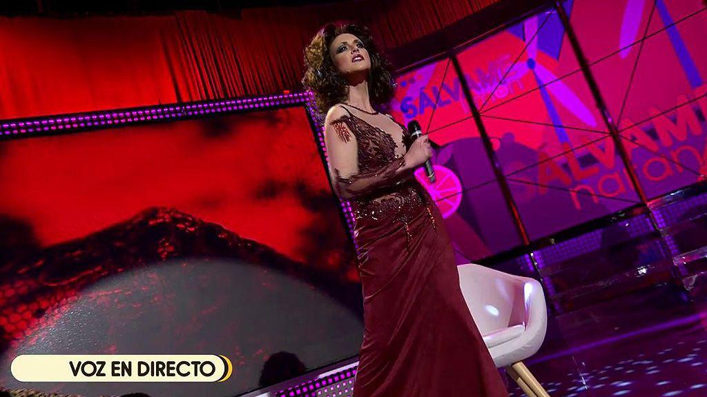 Maria Jesús Ruiz imita a la más grande