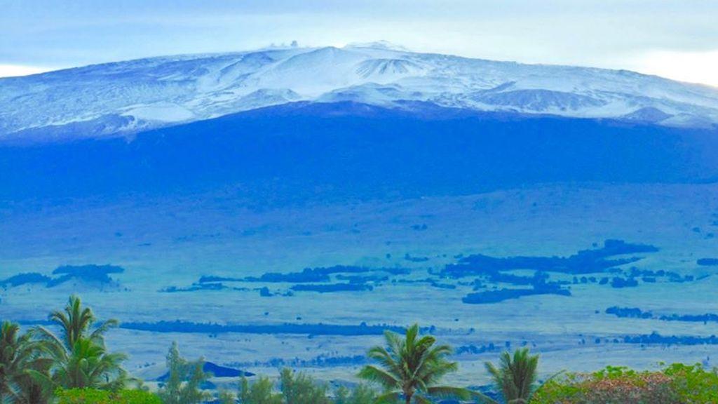 Nieve en Hawaii: los contrastes blancos del archipiélago más surfero