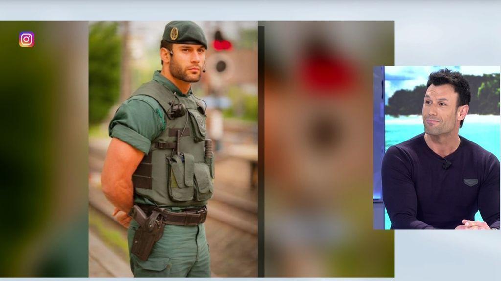 El lado personal del guardia civil Jorge Pérez