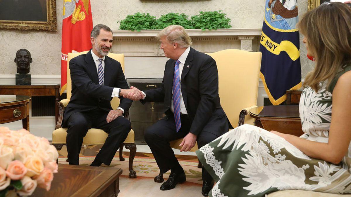 Donald Trump recibirá a los Reyes el 21 de abril en una visita de Estado a EEUU