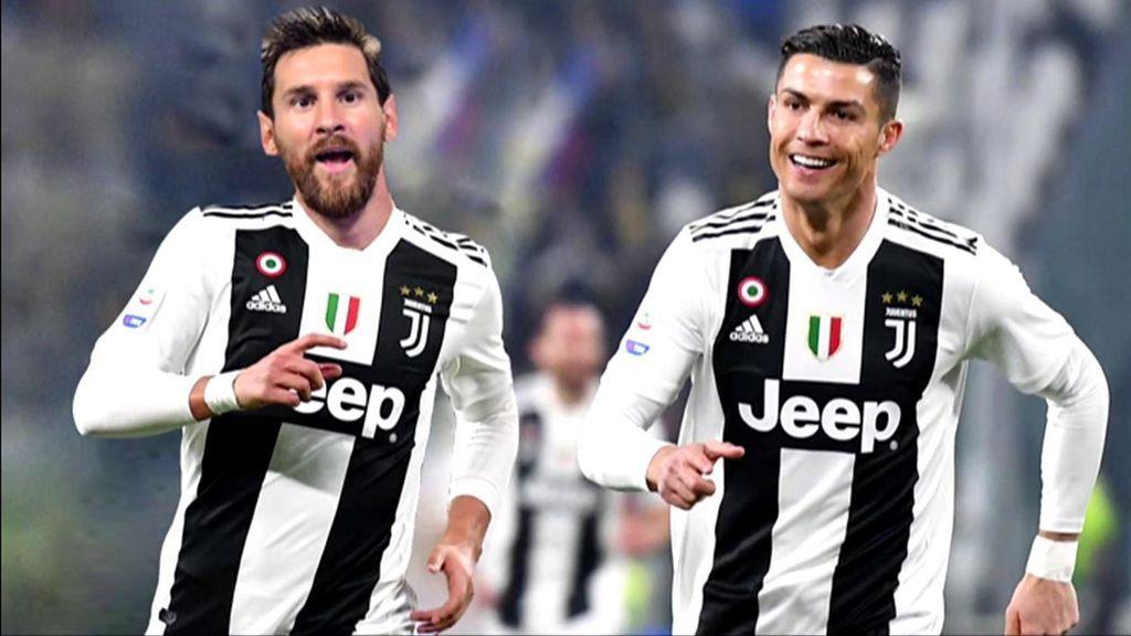 La operación de juntar a Messi y Cristiano en la Juventus costaría 350 millones