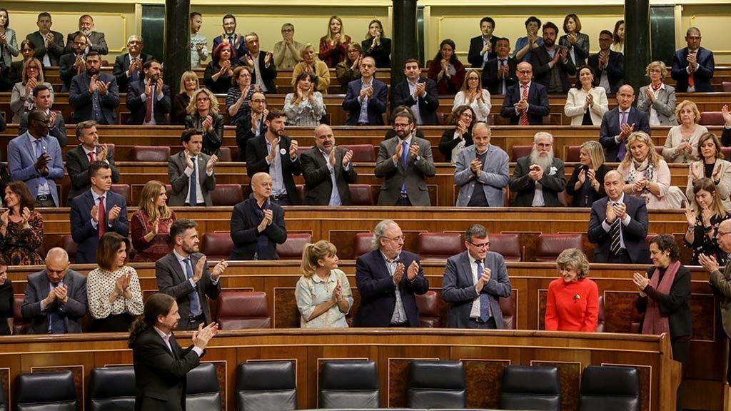 El Congreso da luz verde a la ley de eutanasia con el único voto en contra de PP y Vox