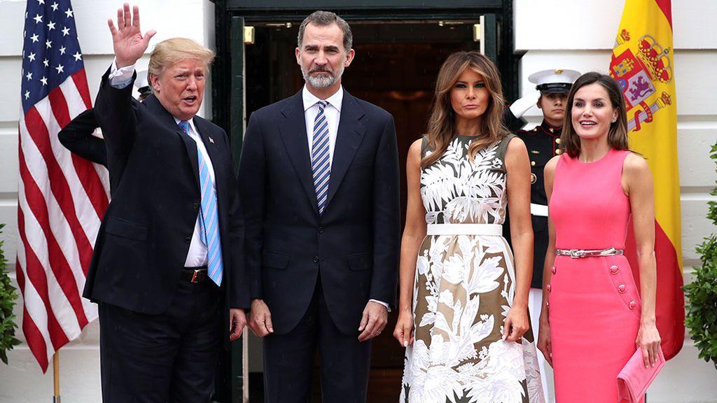 Trump recibirá a los reyes en la Casa Blanca el próximo 21 de abril