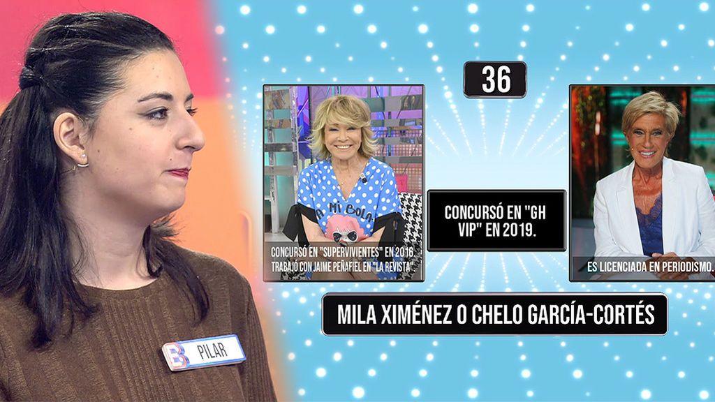 Pila no reconoce ni a Mila Ximénez ni a Chelo García Cortés