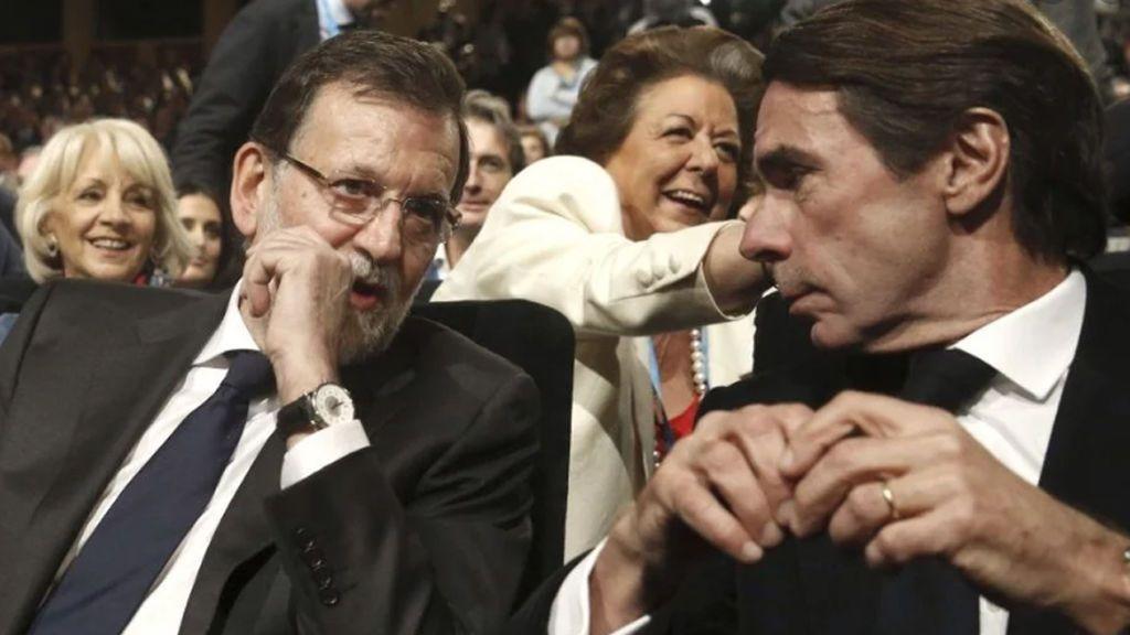 Aznar y Rajoy,  citados como testigos en el juicio por los papeles de Bárcenas