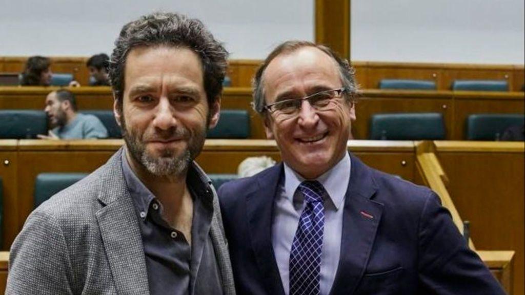 """Borja Sémper: """"Ciudadanos no tiene ningún problema con que Alonso sea el candidato en Euskadi"""""""