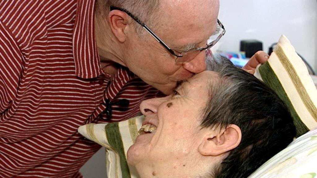 María José, a la que su marido Ángel ayudó a morir