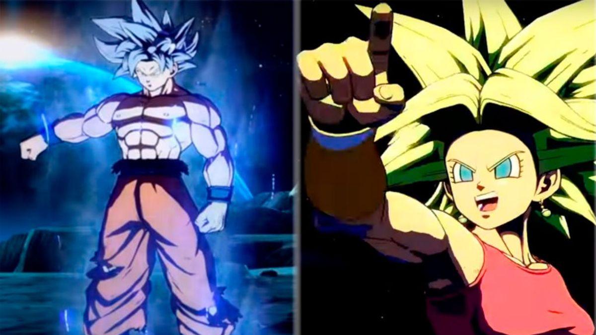 Dragon Ball FighterZ: primer tráiler con Goku Ultra Instinto y Kefla