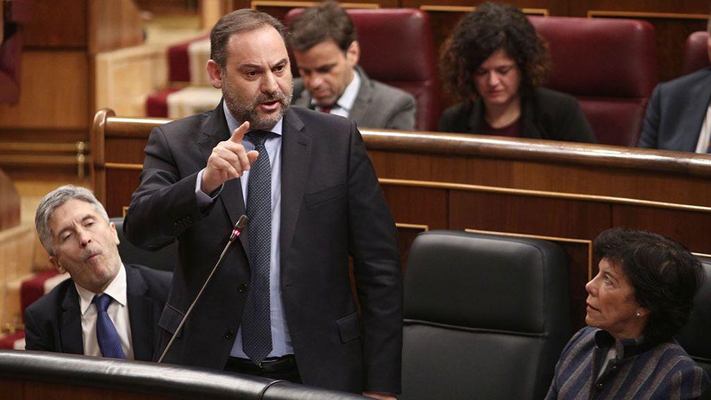 Ábalos, el objetivo de la oposición en la primera sesión de control al Gobierno