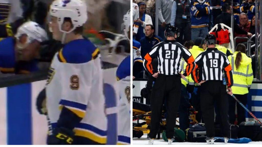 Un jugador de la NHL sufre un infarto en pleno partido: sus compañeros, con el corazón en un puño