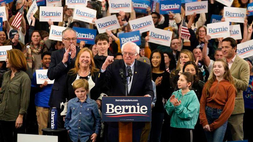 Esta vez sí hay un vencedor claro en las primarias demócratas: el senador de Vermont, Bernie Sanders