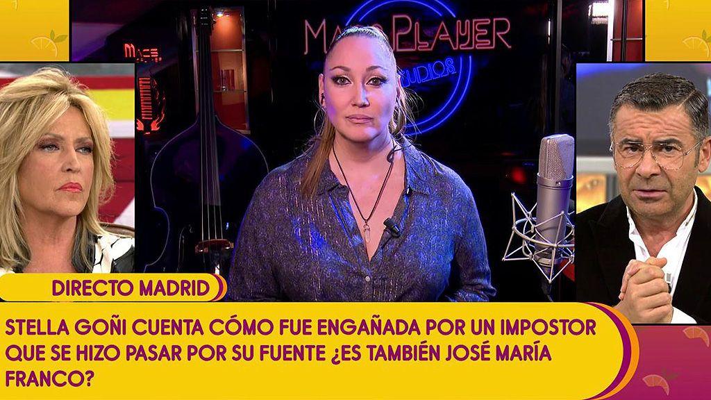 Stella Goñi sufrió el mismo engaño que Lydia Lozano por parte de José María Franco y su hija