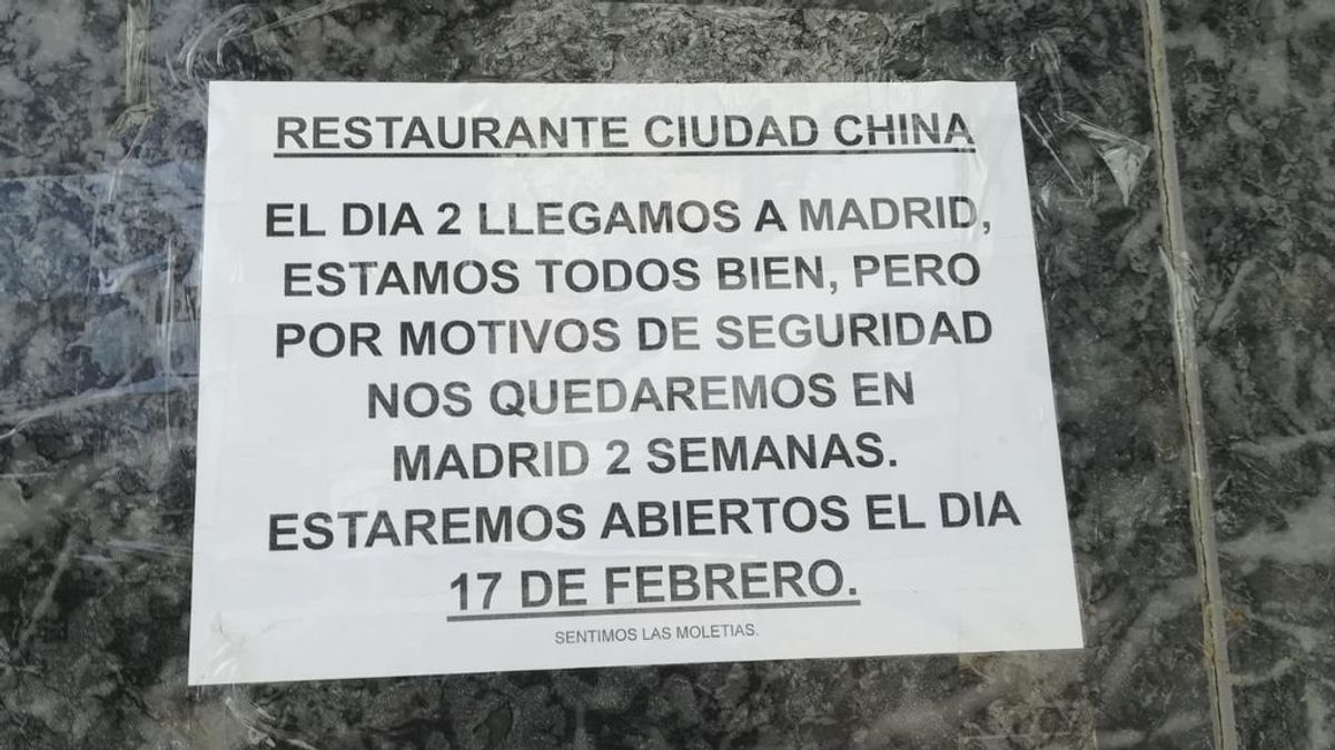 """Chinos residentes en Navarra hacen cuarentena voluntaria """"para la traquilidad y seguridad de todos"""""""