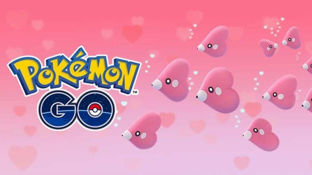 Pokémon GO celebra San Valentín