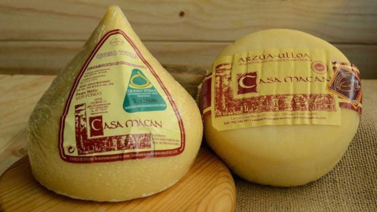 Sanidad ordena la retirada de cinco quesos gallegos de CASA MACÁN