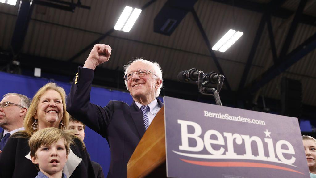 Sanders gana primarias demócratas en New Hampshire y Trump gana las republicanas