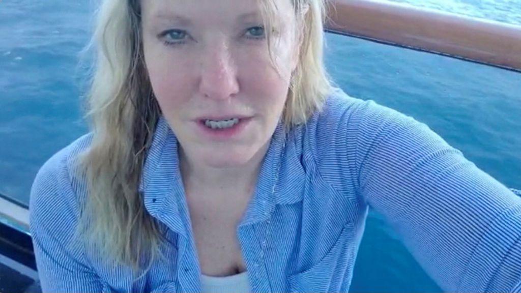 Atrapada en un crucero en aguas de Tailandia