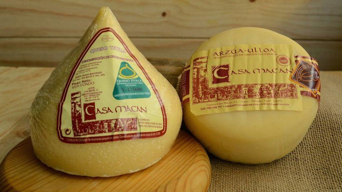 Sanidad retira los productos de la empresa lucense Lácteos Casa Macán por falta de seguridad