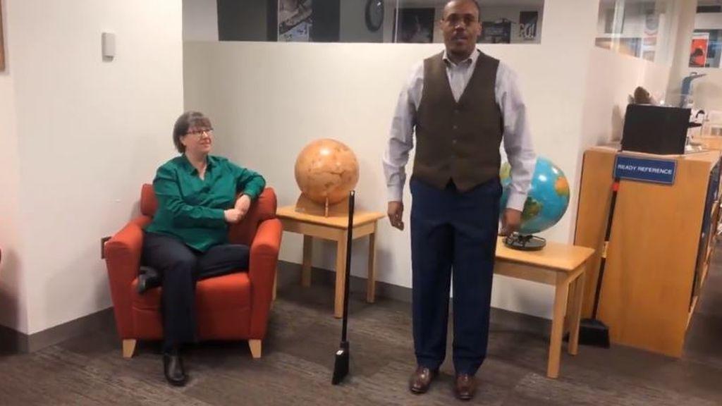 'Broom Challenge': el reto viral de las escobas que hace mella en los famosos