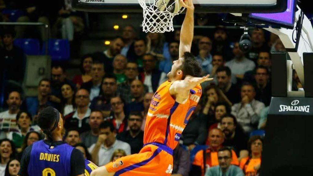 El Valencia Basket elimina al Barça de la Copa del Rey (78-82)
