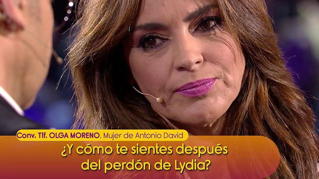 """Olga Moreno cree que le han tendido una trampa a Lydia Lozano: """"La verdad solo tiene un camino"""""""