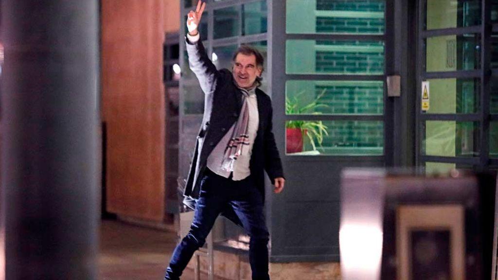 Jordi Cuixart vuelve al trabajo fuera de la cárcel haciendo uso del artículo 100.2