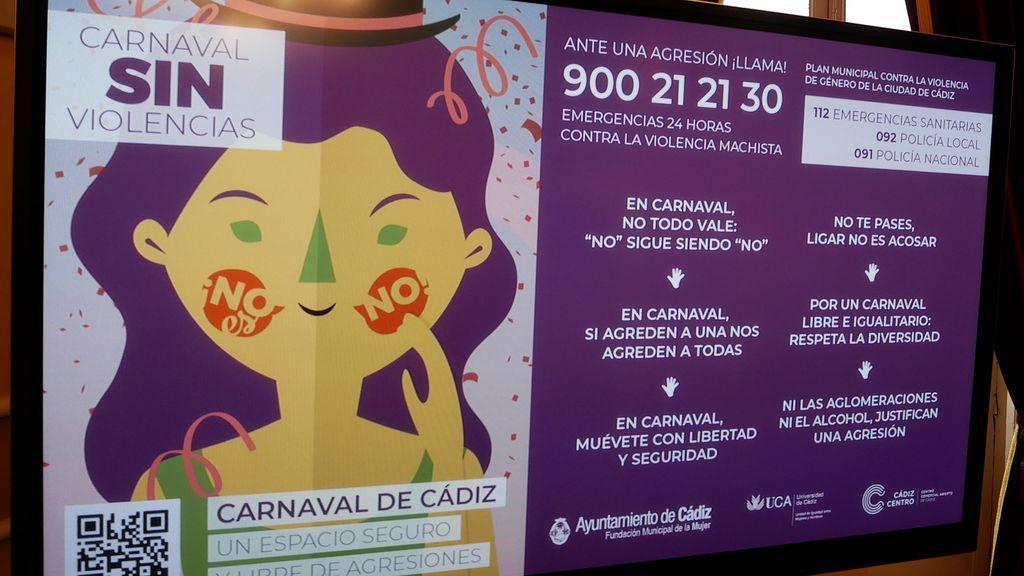 La campaña por un carnaval sin violencias machistas