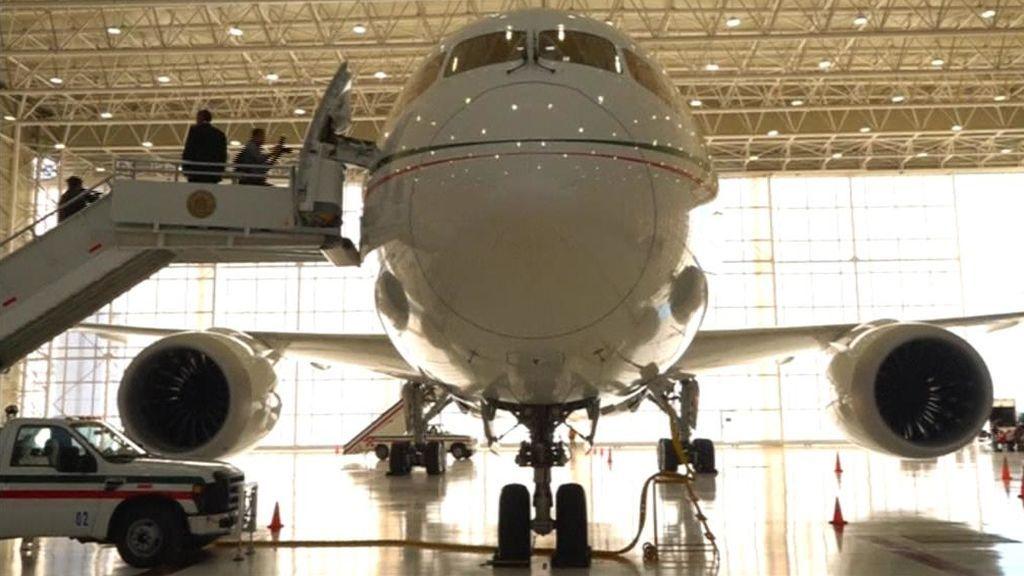 El avión de lujo de Peña Nieto que nadie quiere