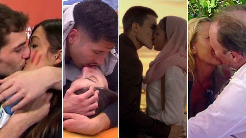 San Valentín: 10 parejas famosas que se besaron como si fuera el último día de sus vidas