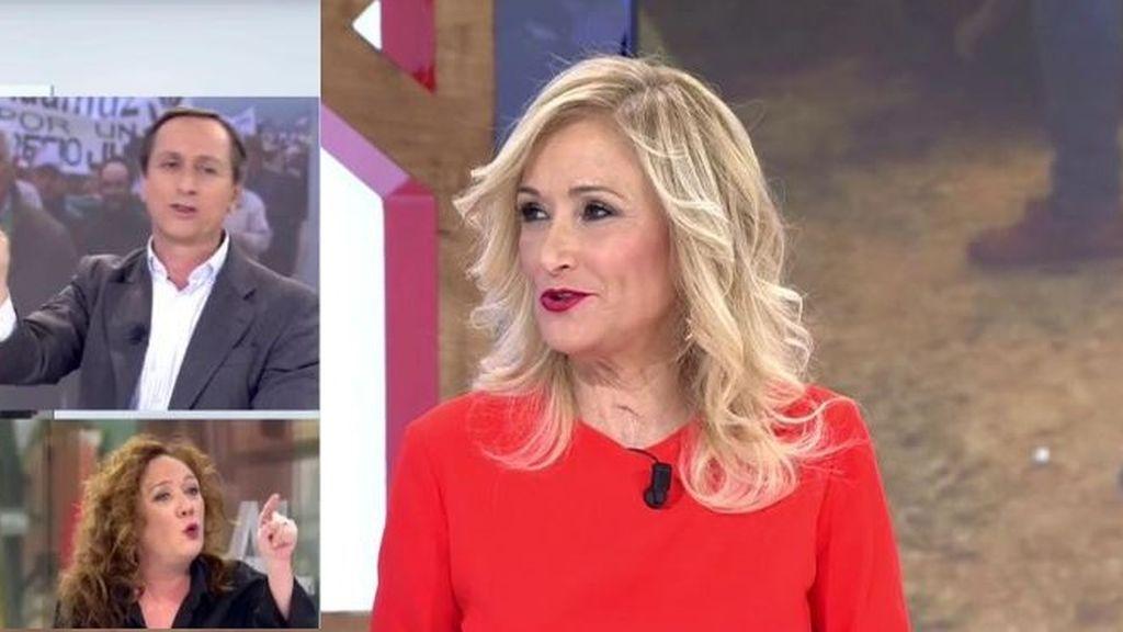 Cristina Cifuentes, contra Fallarás