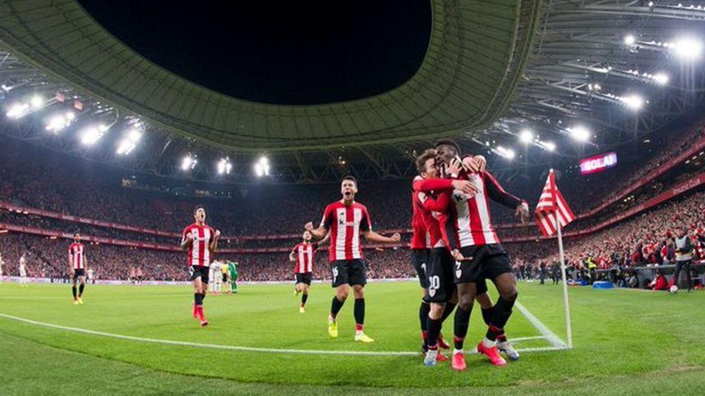 El Ath.Bilbao-Granada de Copa del Rey, emisión más vista del miércoles