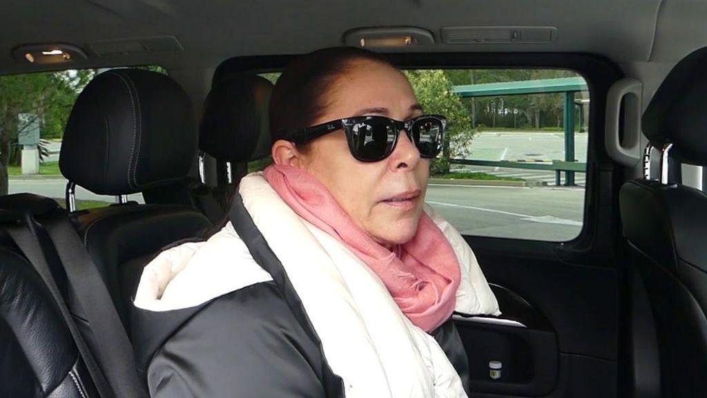 """Isabel Pantoja, emocionada, da el pésame a Paz Padilla: : """"Hay que ser muy fuerte, deseo que sigas adelante con el recuerdo de tu mamá"""""""