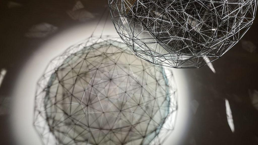 'Partícula del polvo de estrellas' de Olafur Eliasson