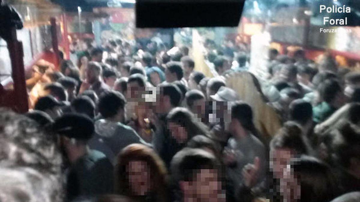 Un bar de Navarra ha sido denunciado después de superar el aforo en más de un 225%