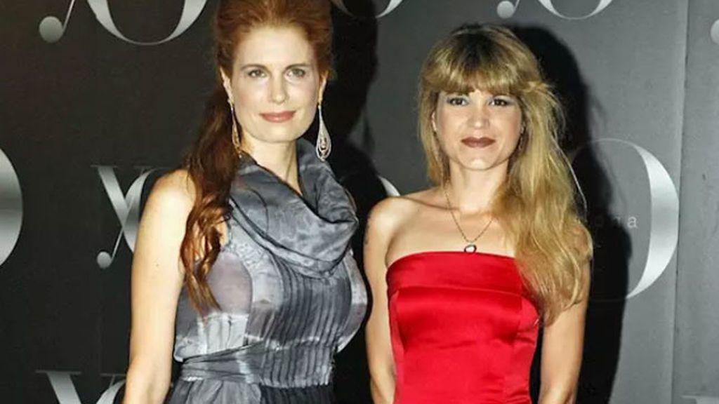 Olivia y Cristina de Borbón