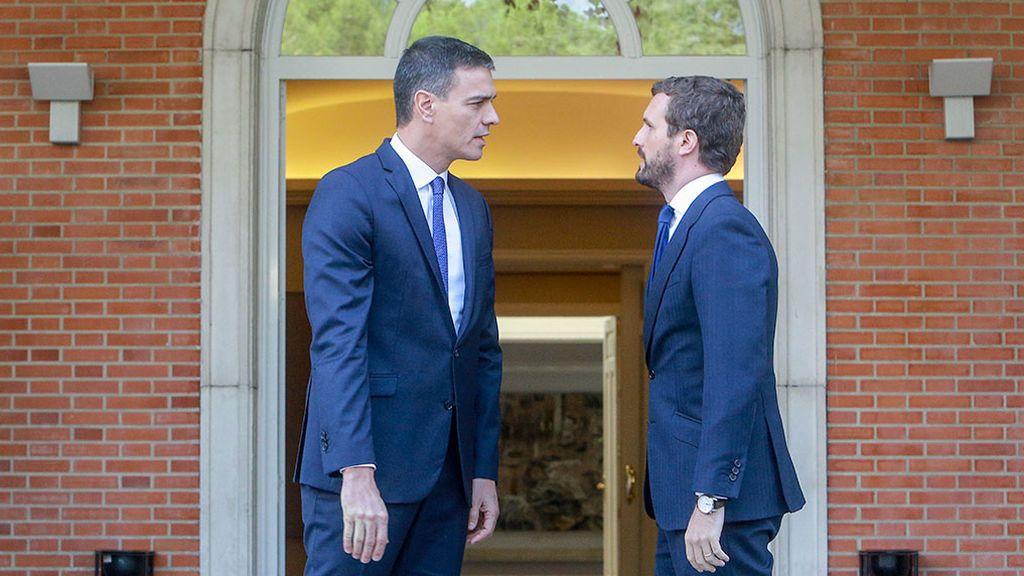 Sánchez cita a  Casado en Moncloa el próximo lunes