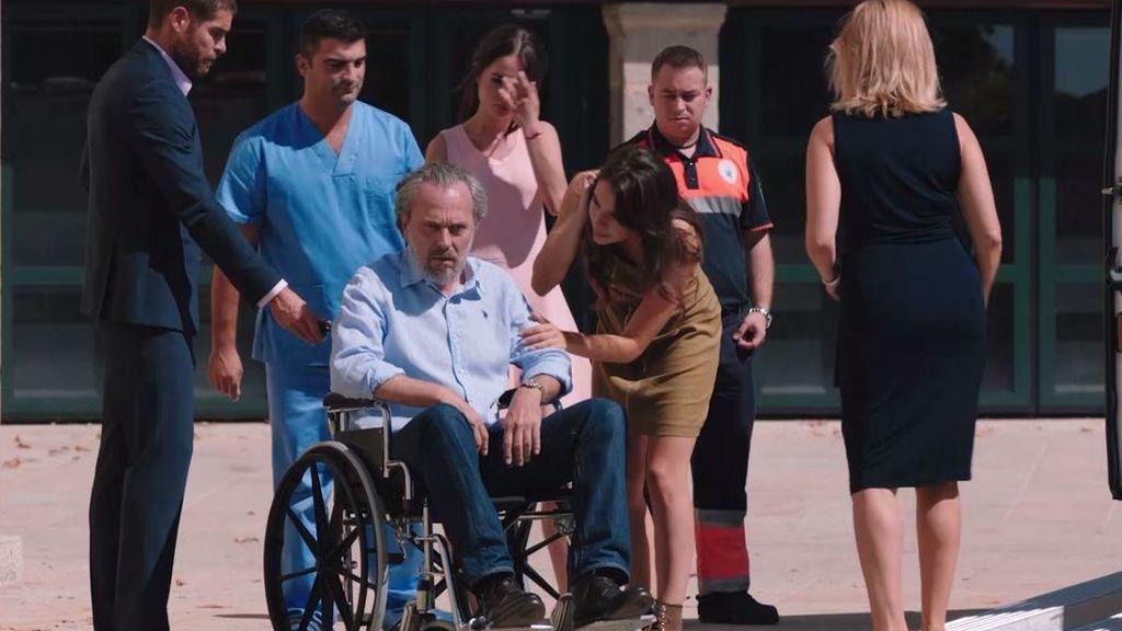 Nemo Bandeira, postrado en silla de ruedas en el nuevo capítulo de 'Vivir sin permiso'