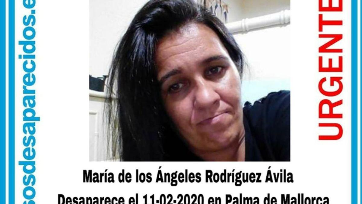 Piden la colaboración ciudadana para encontrar a Ángeles Rodríguez Ávila, desaparecida en Palma