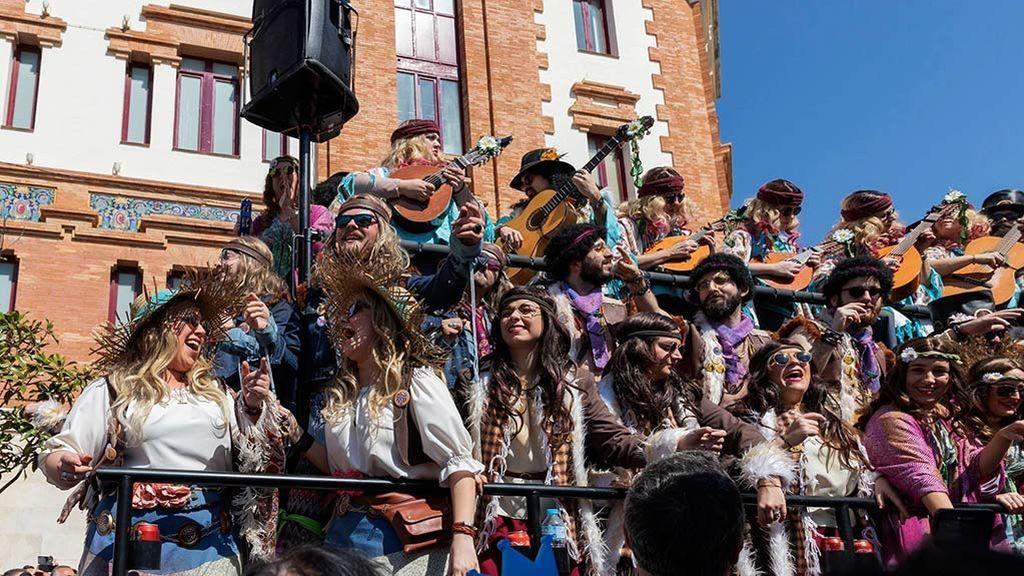 El carnaval de Cádiz contra la violencia machista
